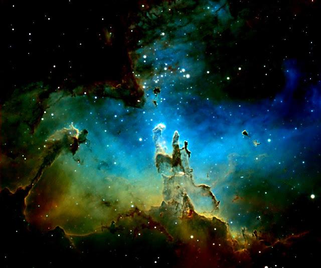 UFO WORLD: NASA Images - M16: Eagle Nebula and Pillars of ...