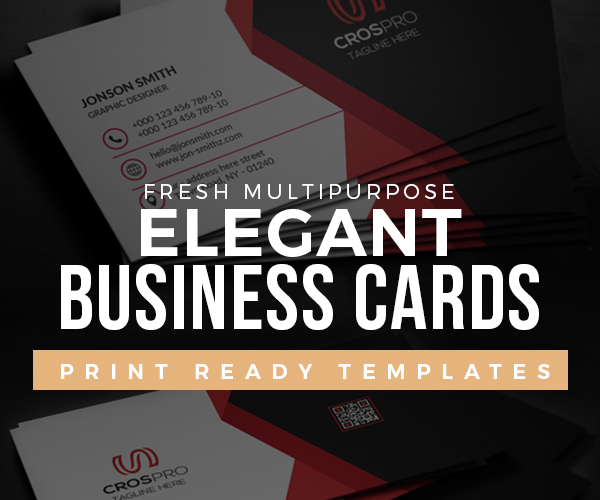 20 Elegant Business Cards Psd Templates Graphic Design Freebies