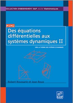 Télécharger Livre Gratuit Des équations différentielles aux systèmes dynamiques Tome 2 pdf