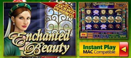 Slot Madness casino Enchanted Beauty slot