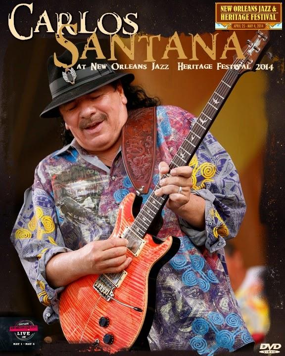 Con Alma De Blues: Carlos Santana At New Orleans Jazz