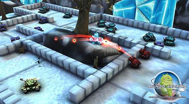 Jugabilidad de Block Tank Wars 2