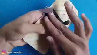 membuat sendiri casing hp dari stik es krim sederhana