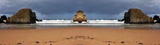simetría, efecto espejo, surreal, surrealismo, surrealista, abstracto, original,  panorama,panoramico,