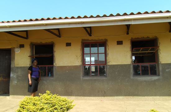 Hollywoodbets Team Support provided repairs and maintenance to the Qalakahle High School