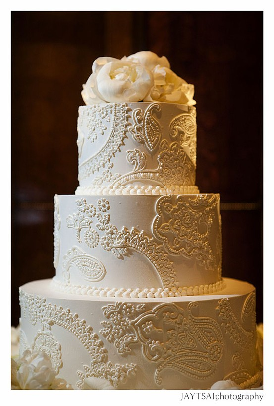 Paisley Pattern Cake Ideas