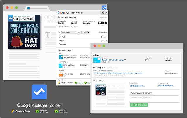 teman yang gres memulai atau gres diterima Google Adsense menyerupai Saya ini Google Publisher Toolbar - Tips Aman untuk Menguji Iklan Adsense