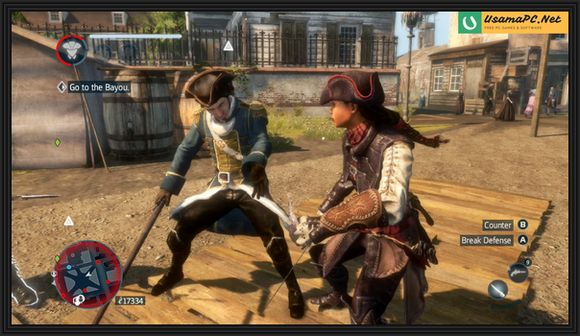 Assassin's Creed Liberation PC Gameplay