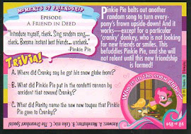 """My Little Pony """"Come on and Smile!"""" Series 1 Trading Card"""