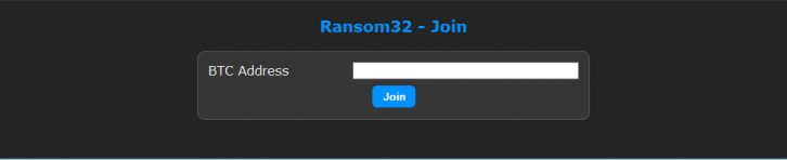 Ransom32 - Join
