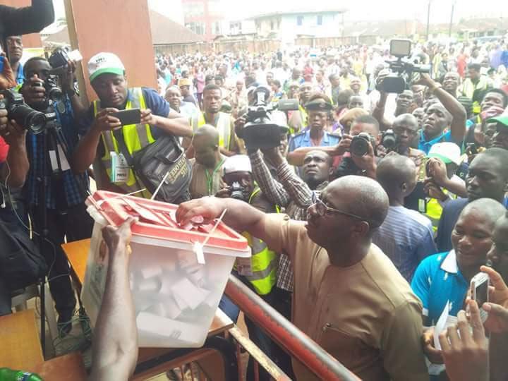 #EdoDecides: APC guber nominee Godwin Obaseki casts vote