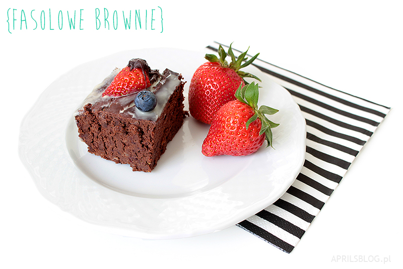 brownie z fasoli, fasolowe brownie