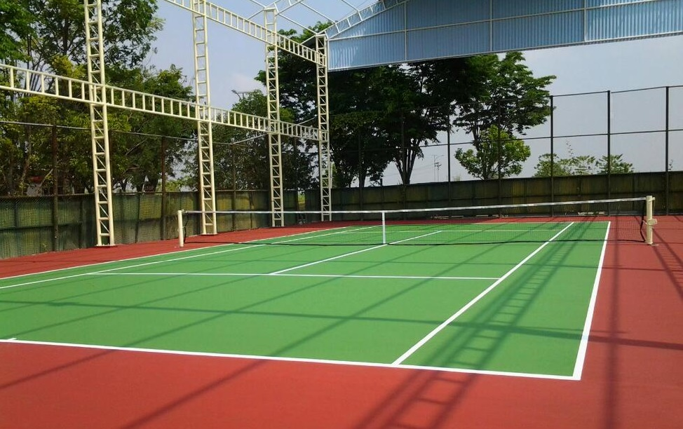Contoh Lapangan Tenis Outdoor Yang Pernah Kami Kerjakan
