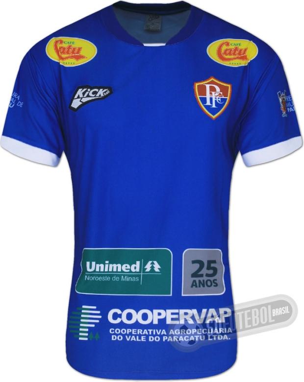 Kickball lança a nova camisa titular do Paracatu - Show de Camisas 742aceb59645b
