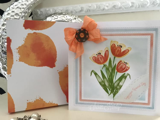 Tranquil Tulips Stampin  Up
