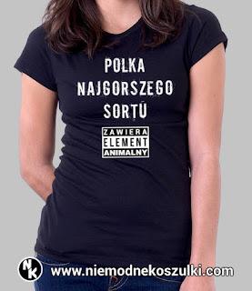 Koszulka Polka najgorszego sortu, element animalny