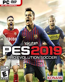 PES - Pro Evolution Soccer 2019 Jogos Torrent Download capa