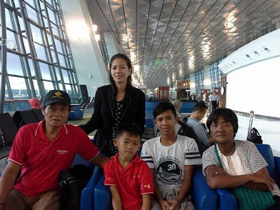 Mary Jane Veloso's family. Photo by Migrante International