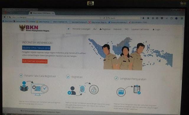 Ilustrasi portal SSCN