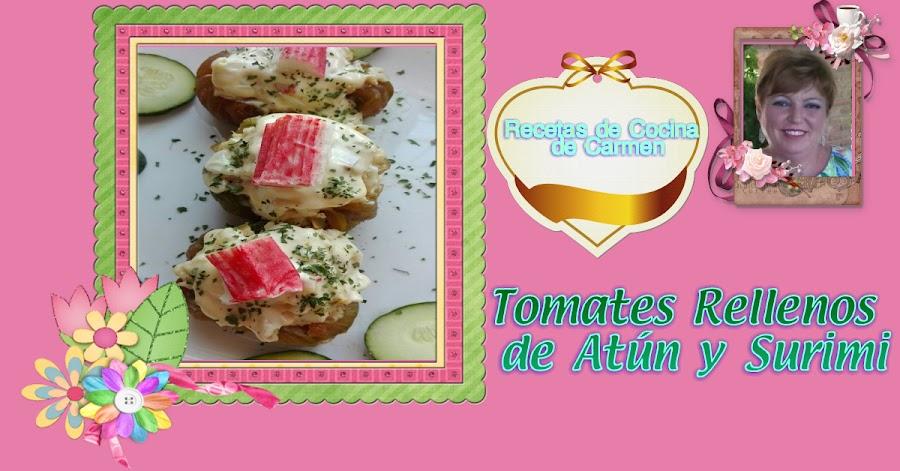 Tomates Rellenos de Atún y Surimi