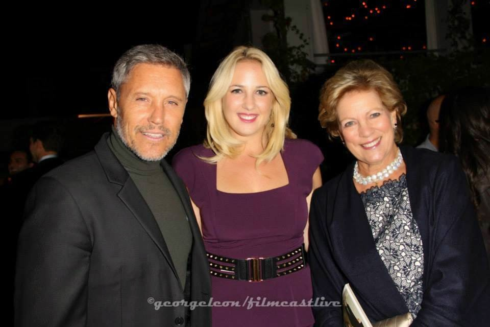 Max Ryan, Queen Anne-Marie of Greece and HRH Princess Theodora of Greece and Denmark © george leon / filmcastlive