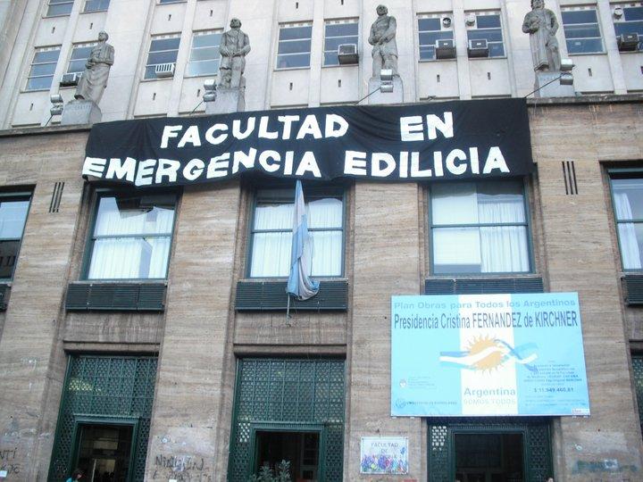 Facultad De Medicina  UBA Image: La Corriente UBA: Jornada En Medicina Por La Crisis Edilicia