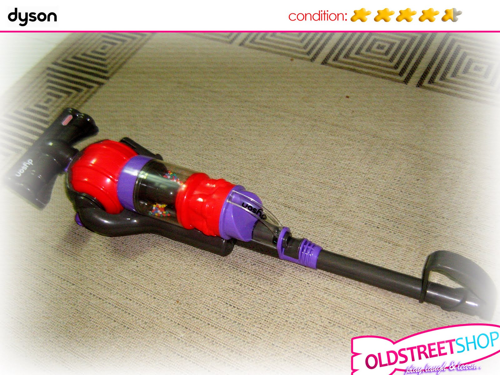 Oldstreetshop Dyson Upright Vacuum Cleaner