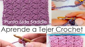 Aprende a Tejer Nueva Puntada a crochet / Tutoriales gratis paso a paso en español y en inglés
