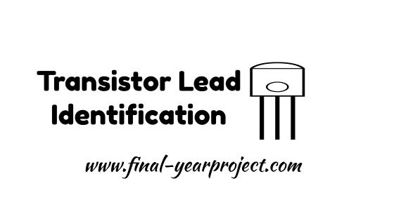Transistor Lead Identification