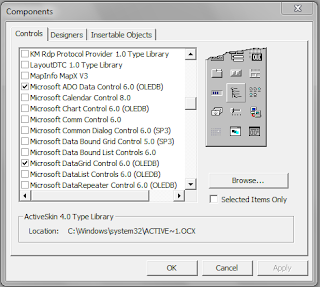 Cara Koneksi Database Microsoft Access ke Visual Basic 6