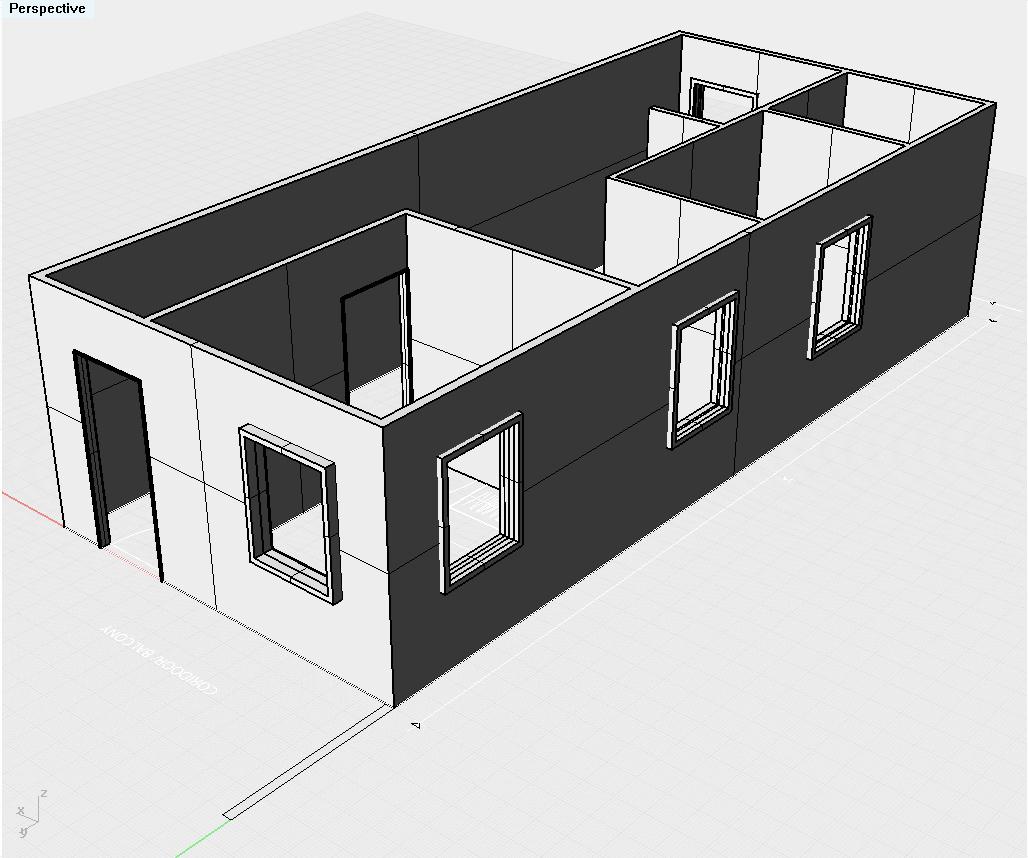 Rekaan Rumah Teres Kampung Bahagian 1