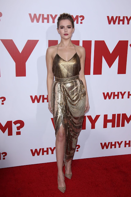 Zoey Deutch – 'Why Him?' Premiere at the Regency Bruin Theatre in Westwood