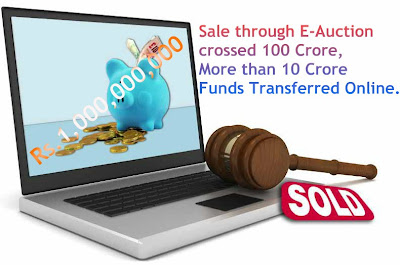 Sale through IREPS eauction  crossed 100 crore