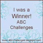 Winner of at ABC challenges! Thanks!
