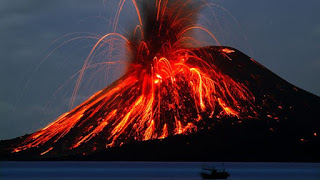 7. Krakatau, Indonesia