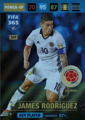 PANINI FIFA 365 cards 2017-68-Gabor gyömber-Fans Favourites