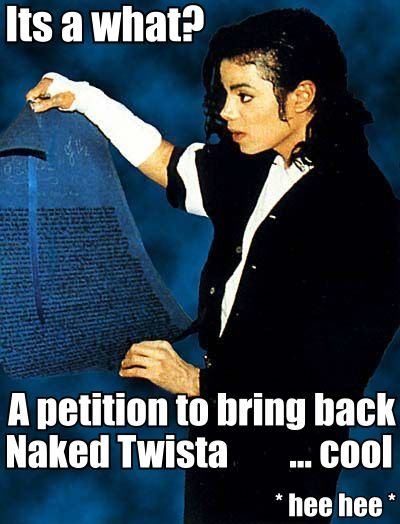 Michael Jackson Naked Twister Meme