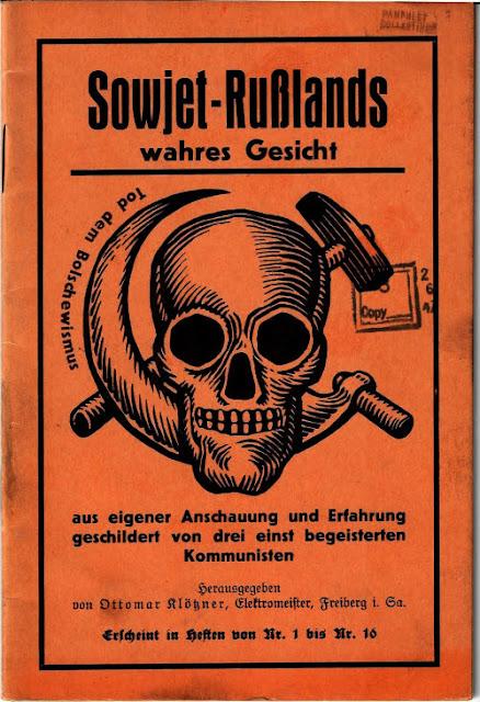 Portada del llibret Sowjet-Rußlands