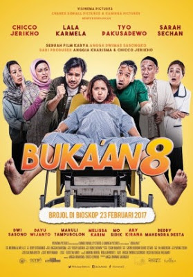 Download Film Komedi Bukaan 8 (2017) Full Movie