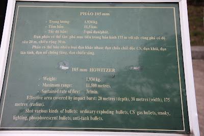Caratteristiche 105 millimetri Howitzer