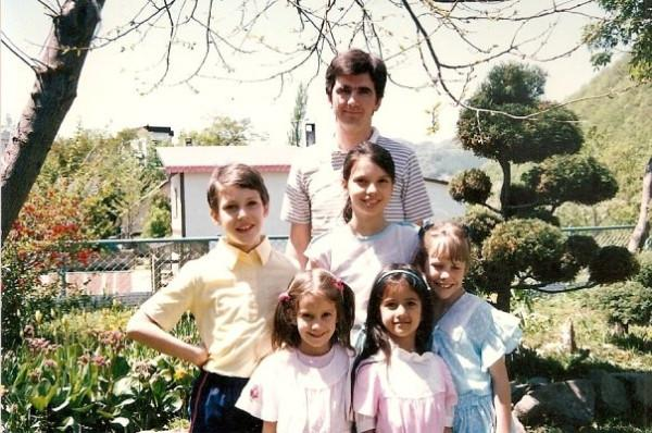 Katrina Kaif with her siblings - Blast from the past