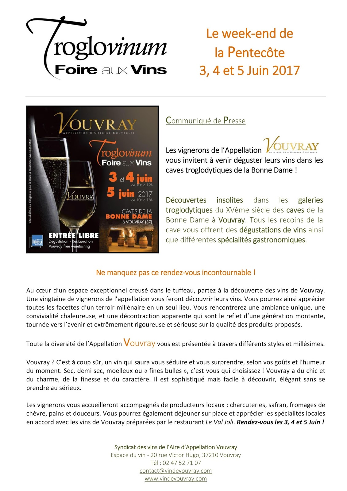 Jim\'s Loire: May 2017