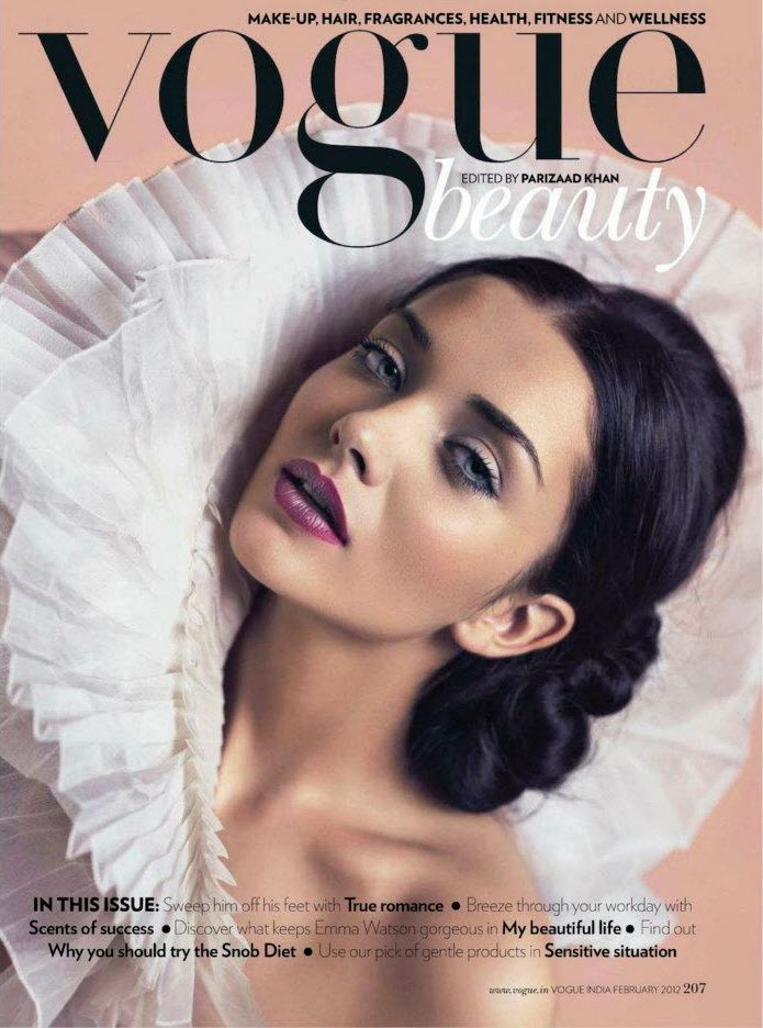 Desi Masala Pictures And News: Amy Jackson Vogue India