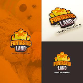 alternatif desain logo untuk Toko Mainan Funtasticland