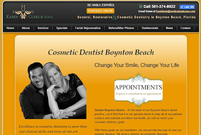 Dentistry office offering services in the Boynton Beach area