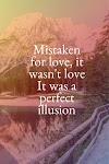 Pictures Quotes Lady Gaga - Perfect Illusion
