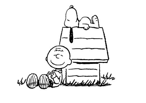 Desenho Do Snoopy Para Colorir: SNOOPY DURMIENDO DIBUJO