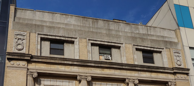 Bathhouse Cornice Removed