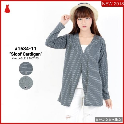 BFO066B35 BAJU Model CARDIGAN BLOUSE Jaman Now ATASAN BMGShop