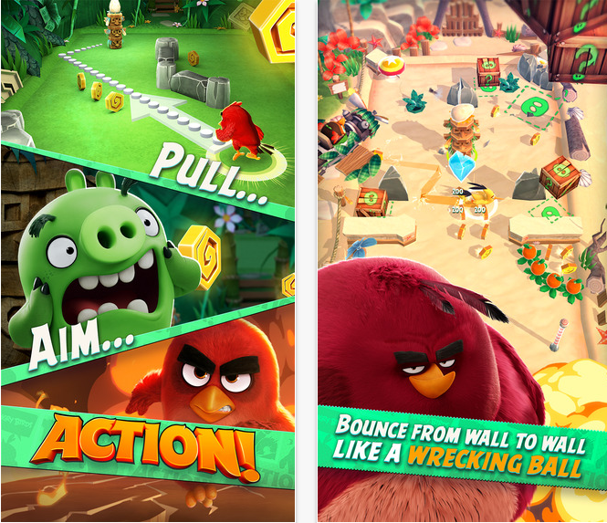 T l charger angry birds action sur android et ios info - Jeu info angry birds ...